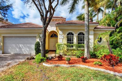 Boca Raton Single Family Home For Sale: 21051 Bella Vista Circle