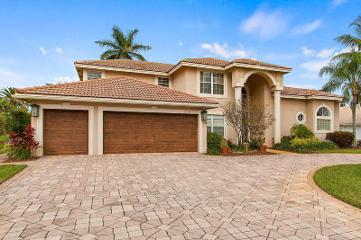 Boynton Beach Single Family Home For Sale: 4611 Lotus Way