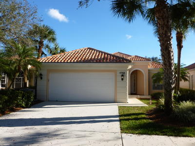 Delray Beach Single Family Home For Sale: 4792 Orchard Lane