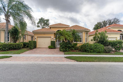 Delray Beach Single Family Home For Sale: 7077 Cataluna Circle