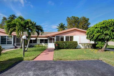 Delray Beach Single Family Home For Sale: 6063 La Palma Lane