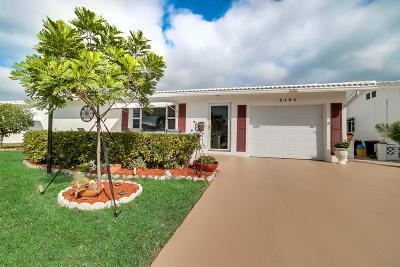Boynton Beach Single Family Home For Sale: 2104 SW 22nd Court