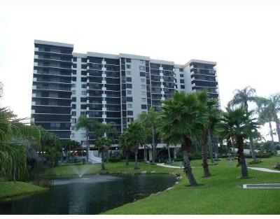 Highland Beach Condo For Sale: 3420 S Ocean Boulevard #9 N
