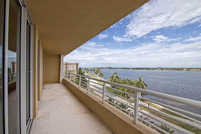 West Palm Beach Rental For Rent: 1551 Flagler Drive #618