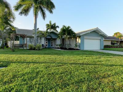 Palm Beach Gardens Single Family Home For Sale: 4690 Holly Drive