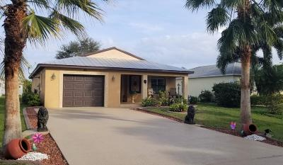 Port Saint Lucie Single Family Home For Sale: 50 Silver Oak Drive