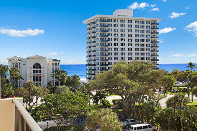 Palm Beach County Condo For Sale: 2121 Ocean Boulevard #603e
