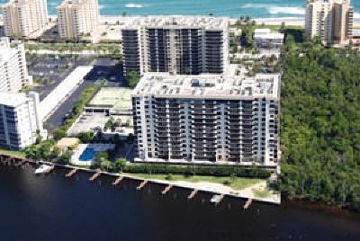Highland Beach Condo For Sale: 3400 S Ocean Boulevard #5 L