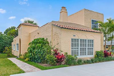 Jupiter Single Family Home For Sale: 114 1st Street