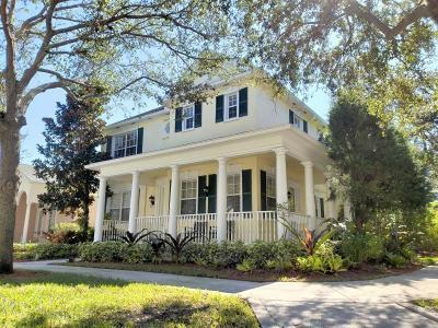 Jupiter Single Family Home For Sale: 110 Honeysuckle Drive