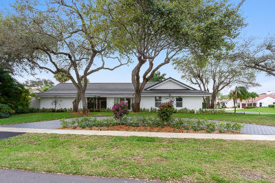Delray Beach Single Family Home For Sale: 4230 Live Oak Boulevard