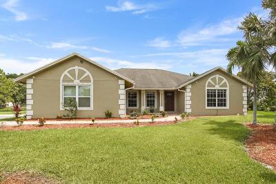 Loxahatchee Single Family Home For Sale: 16784 Hamlin Boulevard