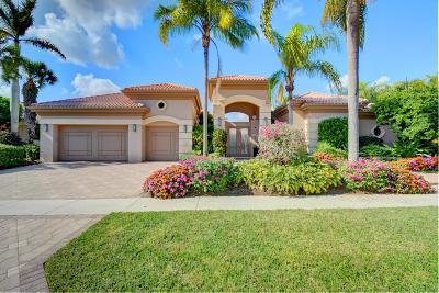 Delray Beach Single Family Home For Sale: 5896 Vintage Oaks Circle