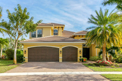 Boynton Beach Single Family Home For Sale: 11969 Fox Hill Circle