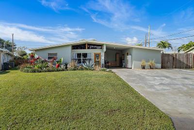 Palm Beach Gardens Single Family Home For Sale: 9827 Daphne Avenue
