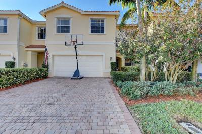 Boynton Beach Townhouse For Sale: 7656 Spatterdock Drive