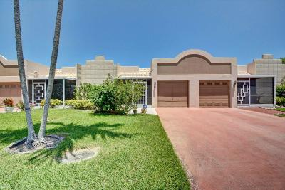 Boca Raton Single Family Home For Sale: 18710 Garbo Terrace Terrace #6