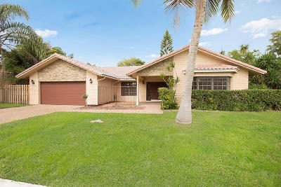 Boca Raton Single Family Home For Sale: 5913 Vista Linda Lane