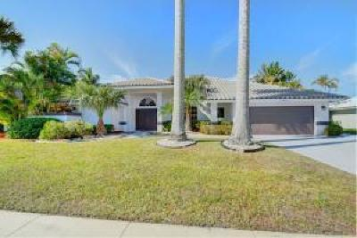 Boca Raton Single Family Home For Sale: 11050 Boca Woods Lane
