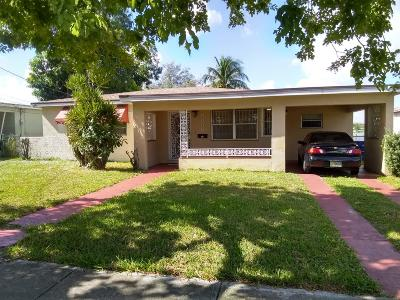 Miami Single Family Home Contingent: 8350 NW 10th Avenue