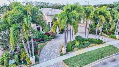 Delray Beach Single Family Home For Sale: 5848 Vintage Oaks Circle