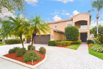 Lake Worth Single Family Home For Sale: 10391 Cypress Lakes Preserve Drive