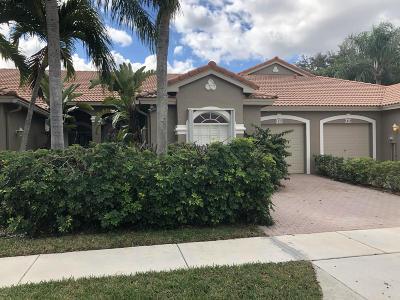 Boca Raton Single Family Home For Sale: 8422 Via Serena