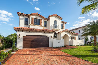 West Palm Beach Single Family Home For Sale: 249 Edmor Road