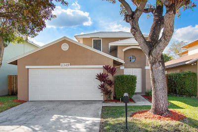 Coconut Creek Single Family Home Contingent: 2349 NW 34th Way