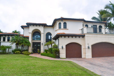 Jupiter Single Family Home For Sale: 136 Lighthouse Drive