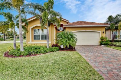 Boynton Beach Single Family Home For Sale: 8343 Boulder Mountain Terrace
