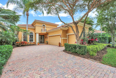 West Palm Beach Single Family Home For Sale: 7961 Via Villagio