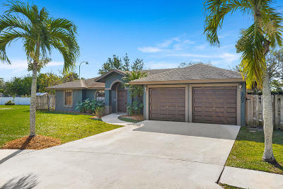 Royal Palm Beach Single Family Home For Sale: 107 Brook Woode Court