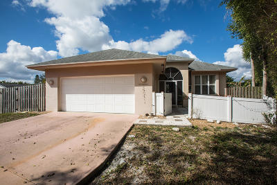 Jupiter Single Family Home For Sale: 1090 Choctaw Street