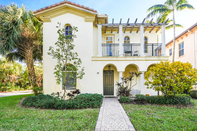 Palm Beach Gardens Single Family Home For Sale: 18 Stoney Drive
