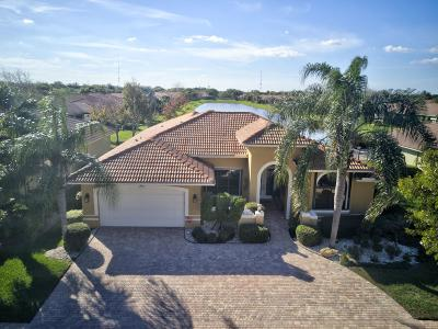 Boynton Beach Single Family Home For Sale: 10445 Tivoli Lakes Boulevard