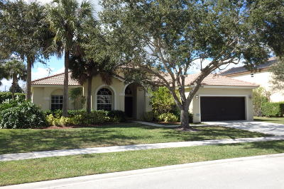 Wellington Single Family Home For Sale: 11668 Waterbend Court