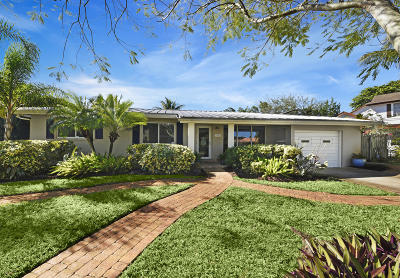 Boynton Beach Single Family Home For Sale: 3205 Fernwood Drive