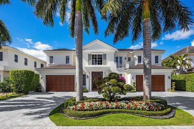 Boca Raton Single Family Home For Sale: 1803 Sabal Palm Circle