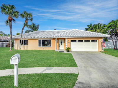 Boca Raton Single Family Home For Sale: 6871 Terra Tranquila Drive