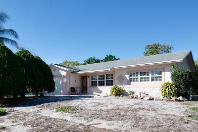 Boynton Beach Single Family Home For Sale: 465 SW 2nd Avenue