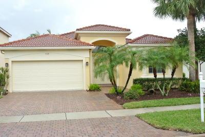 Lake Worth Single Family Home For Sale: 7328 Via Leonardo