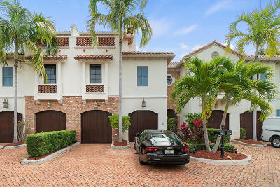 Delray Beach Townhouse For Sale: 825 NE 1st Street #C