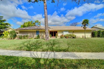 Boca Raton Single Family Home For Sale: 7579 Estrella Circle