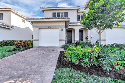Lake Worth Townhouse For Sale: 1114 Vermilion Drive