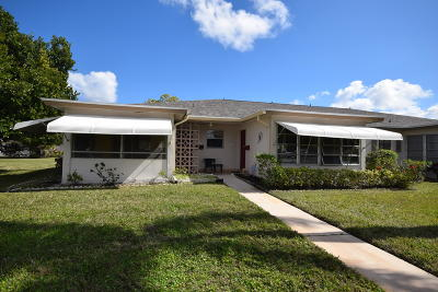 Delray Beach Single Family Home For Sale: 1245 High Point Place S #B