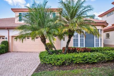 Palm Beach Gardens Townhouse For Sale: 82 Monterey Pointe Drive Drive