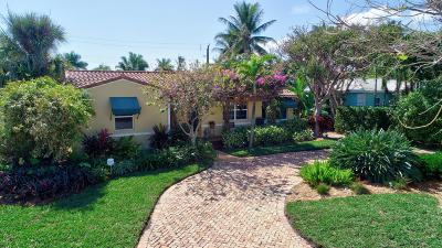 Single Family Home For Sale: 904 E Boca Raton Road