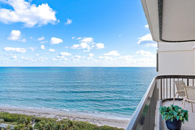 Singer Island Condo For Sale: 5380 Ocean Drive #14g