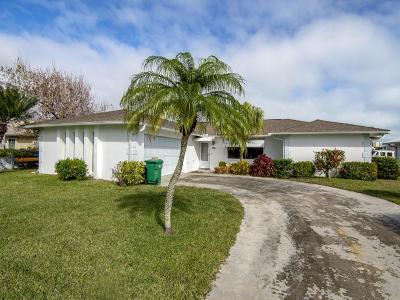 Fort Pierce Single Family Home For Sale: 250 Bermuda Beach Drive